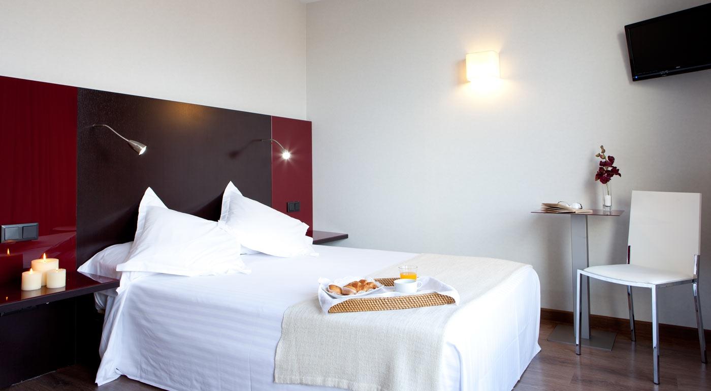Decoracion Romantica Habitacion Hotel ~ Habitaci?n doble con cama de matrimonio de 135?190 cm, especialmente